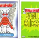 "2014 GARBAGE PAIL KIDS 1ST SERIES BONUS STICKER  ""MOTH MANNY"" B9a NM"