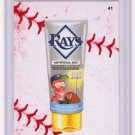 "2016 WACKY PACKAGES BASEBALL SERIES 1 LACE BORDER ""TB RAYS TANNING LOTION"" #41"