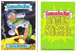 "2013 GARBAGE PAIL KIDS BRAND NEW SERIES3 (BNS3) BONUS STICKER ""SPACE MANUEL""B20a"