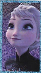 PANINI DISNEY FROZEN ALBUM STICKER #E4 SHINY FOIL-  HARD TO FIND!