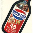 "1974 WACKY PACKAGES ORIGINAL 8TH SERIES ""BURPSI-COLA"" STICKER"