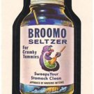 "1974 WACKY PACKAGES WONDER BREAD 2nd SERIES ""BROOMO SELTZER"" STICKER"