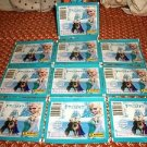 "2015 PANINI DISNEY FROZEN ""ENCHANTED MOMENTS"" LOT OF 10 SEALED STICKER PACKS"