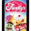 "2013 WACKY PACKAGES ALL NEW SERIES 11 {ANS11} RUDE FOOD INSERT ""FIENDLY'S"" #2"