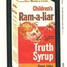 "1980 WACKY PACKAGES 3RD SERIES ""RAM-A-LIAR SYRUP"" #178 STICKER CARD"