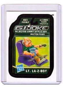 "2014 WACKY PACKAGES SERIES 1 ""G.I.JOKE"" #49 STICKER CARD!!"
