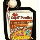 "WACKY PACKAGES 1991 SERIES ""CUP O' POODLES"" #38 STICKER CARD"