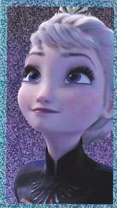 PANINI DISNEY FROZEN STICKER  #E4 SHINY!  HARD TO FIND!