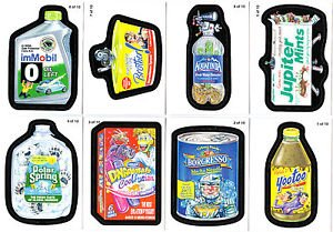"2011 WACKY PACKAGES ALL NEW SERIES 8 {ANS8} ""PACK TO THE FUTURE"" SET 10/10"