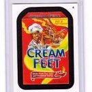 "2014 WACKY PACKAGES SERIES 1 ""CREAM OF FEET"" #4 STICKER CARD!!"