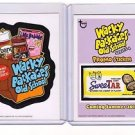 2012 WACKY PACKAGES OLD SCHOOL 3RD SERIES INSERT & OS4 PROMO BOTH!! GREAT PRICE!