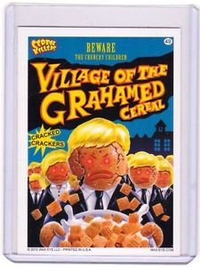 """2012 CEREAL KILLERS 1ST SERIES """"VILLAGE OF THE GRAHAM"""" #49 STICKER-ONLY 99 CENTS"""