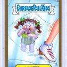 "2014 GARBAGE PAIL KIDS 2ND SERIES GOLD BORDER ""ICY IRIS"" #114a STICKER CARD"