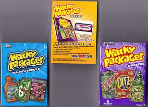 WACKY PACKAGES **COMBO DEAL** COMPLETE SETS ANS7 & ANS8 FREE SHIPPING!!   GPK