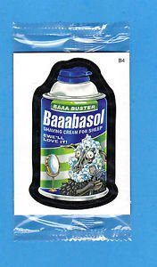"2010 WACKY PACKAGES ALL NEW SERIES 7 (ANS7) BONUS CARD **BAAABASOL** B4  MINT"""