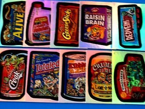 WACKY PACKAGES ANS1 CLINGS,ANS2 TATTOOS & ANS3 FOILS (PICK-A-INSERT) PICK 1  WOW