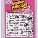 "2010 WACKY PACKAGES SERIES 6 LE POSTCARDS ""SKETCH"" By NEIL CAMERA 1/1"