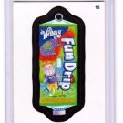 "2014 WACKY PACKAGES SERIES 1 ""FUN DRIP"" #15 STICKER CARD!!"