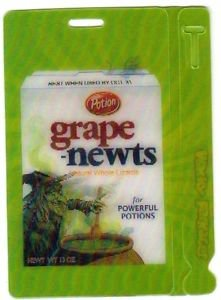 "2011 WACKY PACKAGES ALL NEW SERIES 8 {ANS8} MOTION TAG ""GRAPE-NEWTS"" #10"