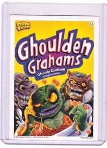 "2012 CEREAL KILLERS 1ST SERIES ""GHOULDEN GRAHAMS"" #33 STICKER-ONLY 99 CENTS"