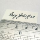 Rory Gallagher Signature Decal Waterslide For Guitar
