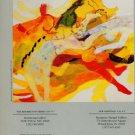 Cleve Gray 1986 Art Exhibition Ad Resurrection #6