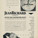 1953 JeanRichard Watch Company Geneva Switzerland 1953 Swiss Ad Suisse Advert Jean Richard Watch Co