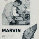 1951 Marvin Watch Company La Chaux-de-Fonds Switzerland 1951 Swiss Ad Suisse Advert Horlogerie