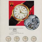 Buren Watch Company Rotowind 1953 Swiss Ad Switzerland Suisse Advert