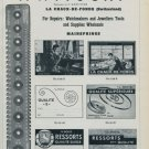 1951 F. Witschi Company Vintage 1951 Swiss Ad Suisse Advert Horlogerie Horology Switzerland