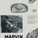 Marvin Watch Company Switzerland 1951 Swiss Ad Suisse Advert Horology Horlogerie