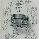 Gay Freres S.A. Switzerland Vintage 1947 Swiss Ad Suisse Advert Horology