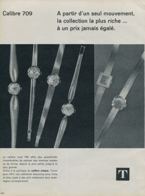 1962 Tissot Watch Company Switzerland 1962 Swiss Ad Suisse Advert Horlogerie Horology