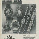 Arctos Watch Company Pforzheim Germany Vintage 1976 Swiss Ad Advert Horlogerie