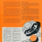 Rolex Watch Company 1951 Swiss Ad Two Discoveries Made Wrist Watch Possible
