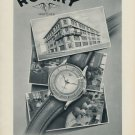 1953 Rotary Watch Company La Chaux-deFonds Switzerland 1953 Swiss Ad Suisse Advert