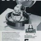 Greiner Electronics SA Company Vintage 1977 Swiss Ad Suisse Advert Horlogerie Horology