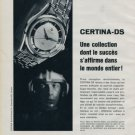 Certina Watch Company Vintage 1962 Swiss Ad Suisse Horlogerie Advert Horology