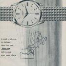 Exactus Watch Company Switzerland Vintage 1962 Swiss Ad Suisse Advert Horlogerie