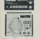 Bandelin Electronic KG Company Vintage 1976 Swiss Ad Suisse Advert Horology Horlogerie