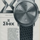 Edox Watch Company Era Watch Company DiaMatic 1964 Swiss Ad Suisse Advert
