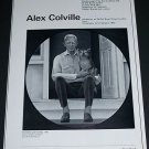 Alex Colville Vintage 1970 Art Exhibition Ad My Father and His Dog
