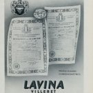1951 Lavina Watch Company Villeret Switzerland Vintage 1951 Swiss Ad Suisse Advert Horology