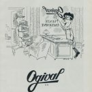 1951 Ogival Watch Company Vintage 1951 Swiss Ad Suisse Advert Horlogerie Horology