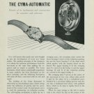 The Cyma-Automatic Details of Its Mechanism and Construction for Repairers 1949