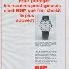 1977 KIF Parechoc SA Company Vintage 1977 Swiss Ad Suisse Advert Horlogerie Horology