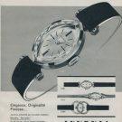 1962 Juvenia Watch Company Navette Vintage 1962 Swiss Ad Suisse Advert Horlogerie