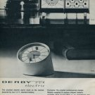 Derby Clock Company Derby Vox 1962 Swiss Ad Suisse Advert Switzerland Horology