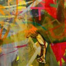 Albert Oehlen Embraceable You Art Ad + Detail