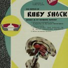 1956 Seitz Ruby Shock Company Switzerland Vintage 1956 Swiss Ad Suisse Advert Horology